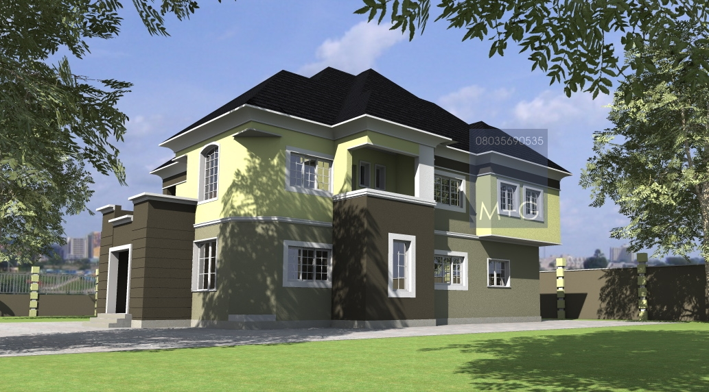 Pictures Of Mahal Architectural Duplexes In Nigeria