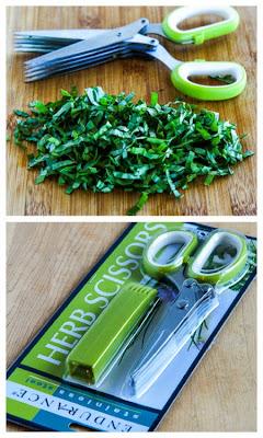 Kalyn's Kitchen Picks:  Herb Scissors; found on KalynsKitchen.com