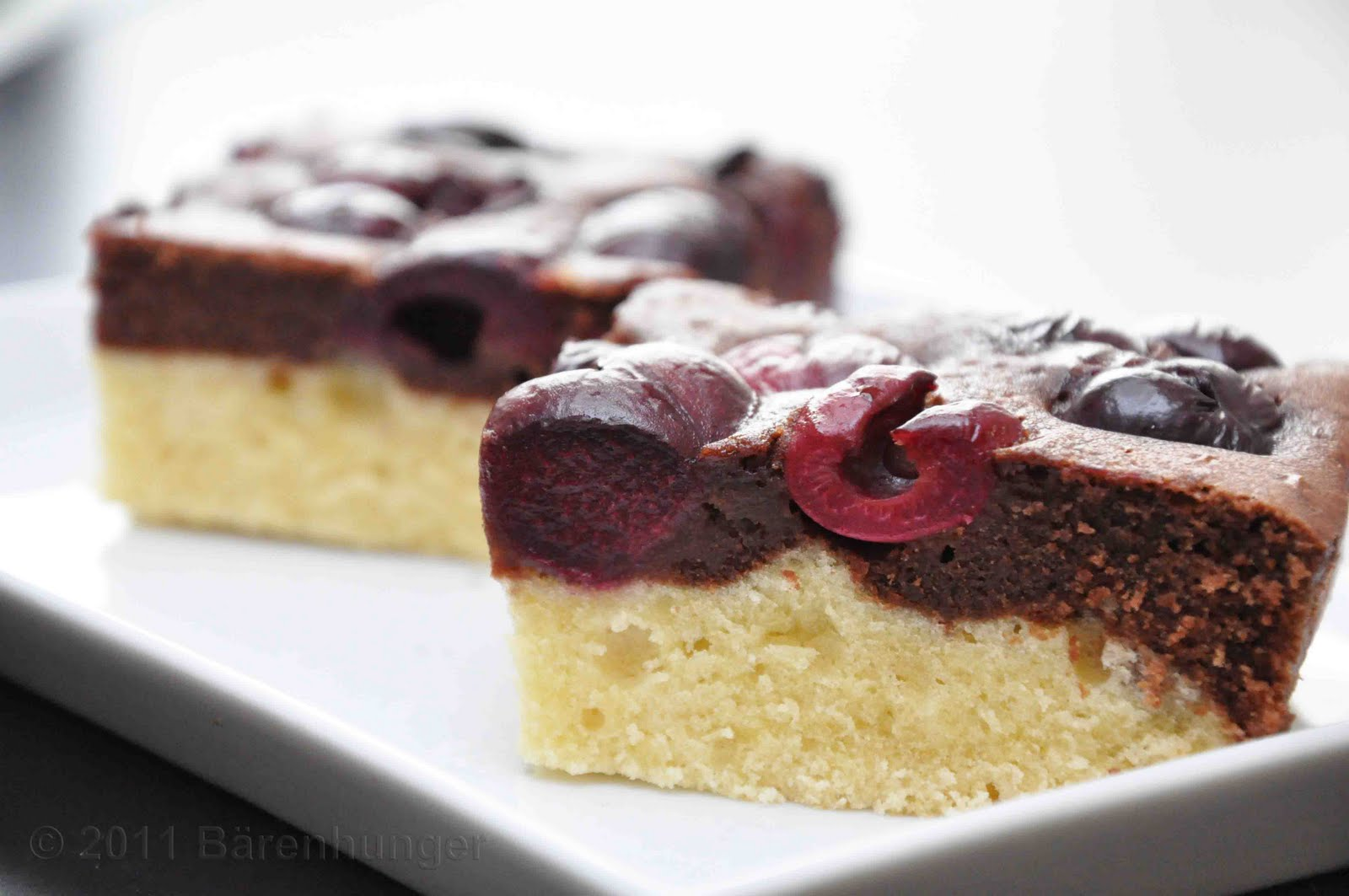 Schoko Kirsch Kuchen Barenhunger