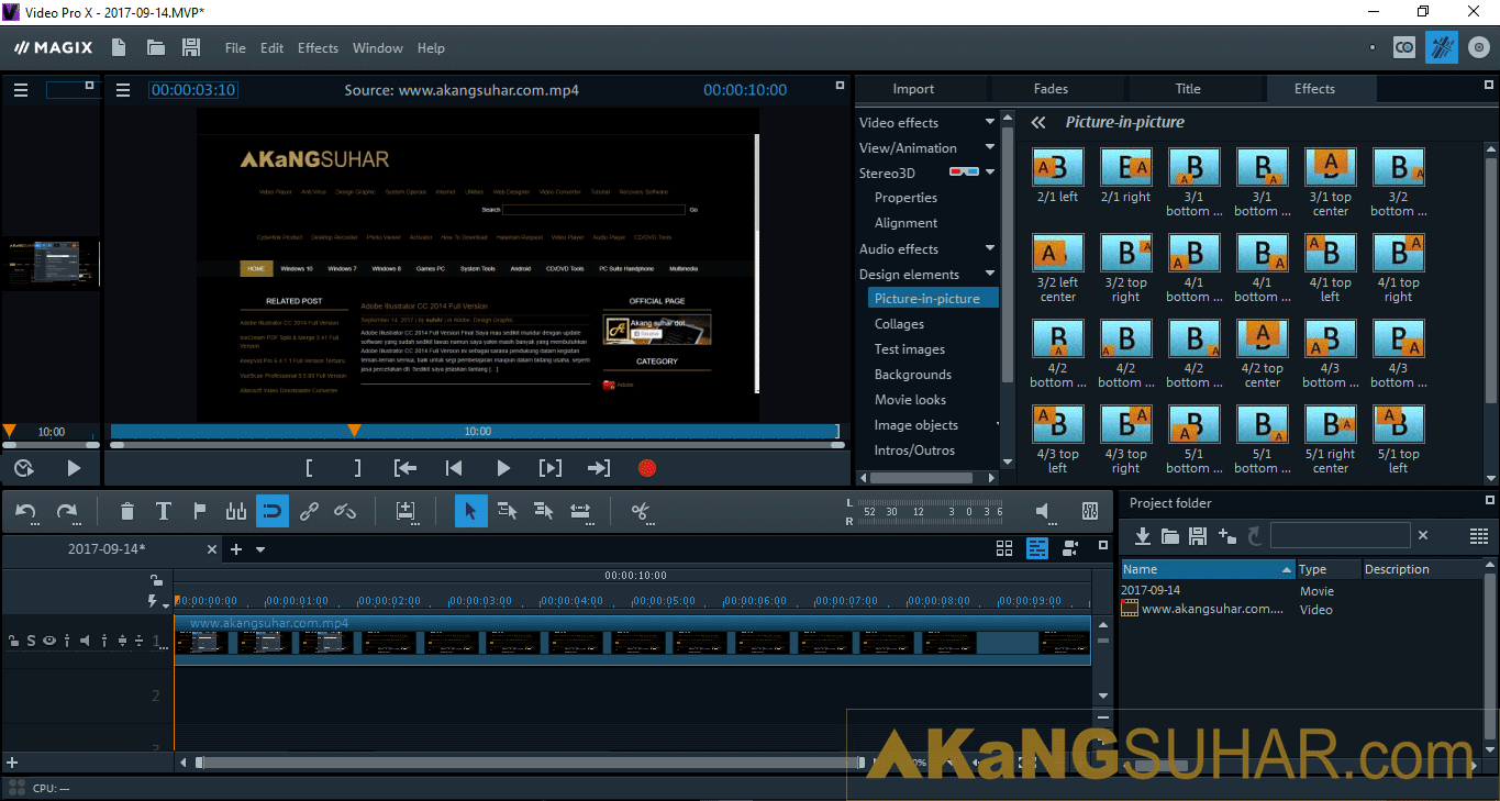 Free Download MAGIX Video Pro Final Latest Version