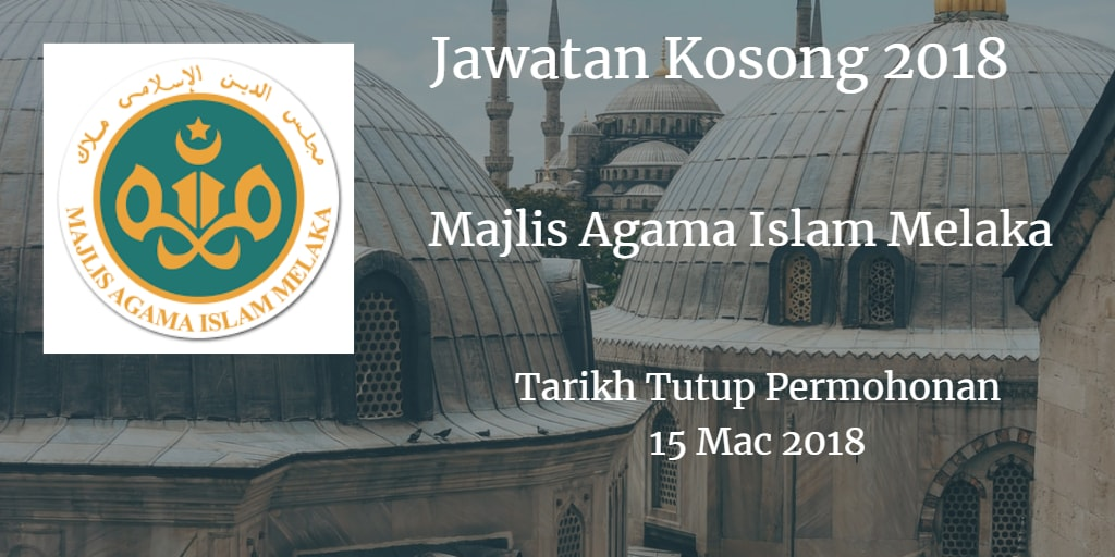 Jawatan Kosong MAIM 15 Mac 2018