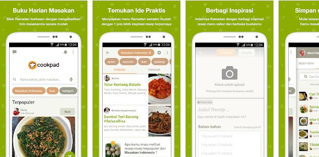 Aplikasi Cookpad Android