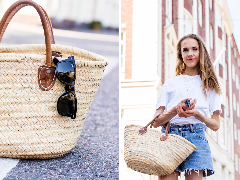minimal-scandinavian-streetstyle-outfit-summer-helsinki-fashion-blogger-denim-shorts-levis-basket-bag