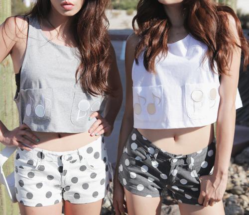 Big Dot Color Shorts