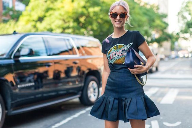street-style-nyfw-ss17-graphic-tee