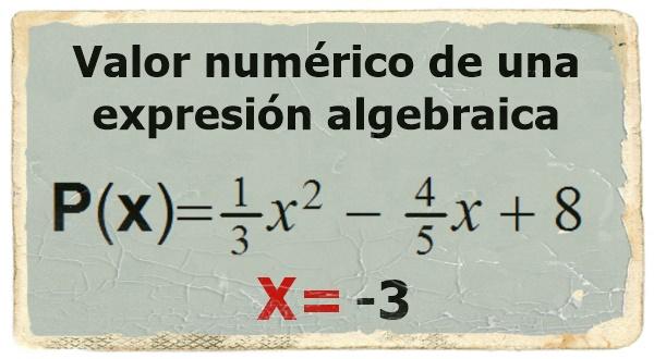Valor Numérico De Un Polinomio Matemática Serie 23