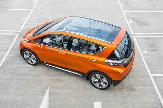 Fotografía del Chevrolet Perno EV Concept