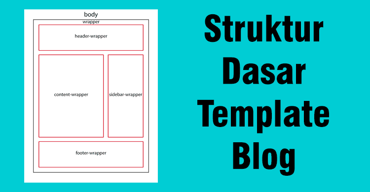 Membuat Struktur Dasar Template Blog Blogger