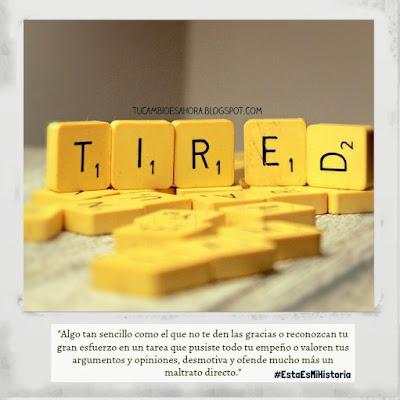 Tired, ansiedad, depresión
