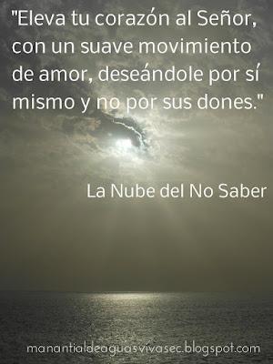 FRASE DE LA NUBE DEL NO SABER