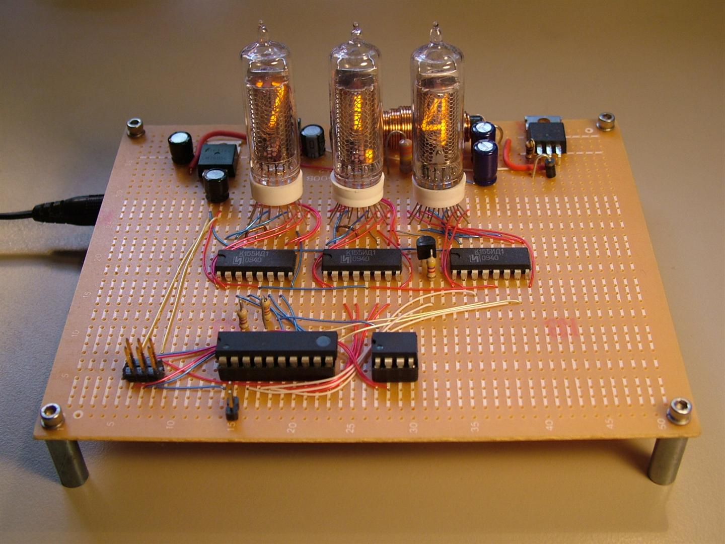 The Life Of Kenneth Avr Nixie Tube Thermometer Circuit Schematic Using Operational Amplifiers