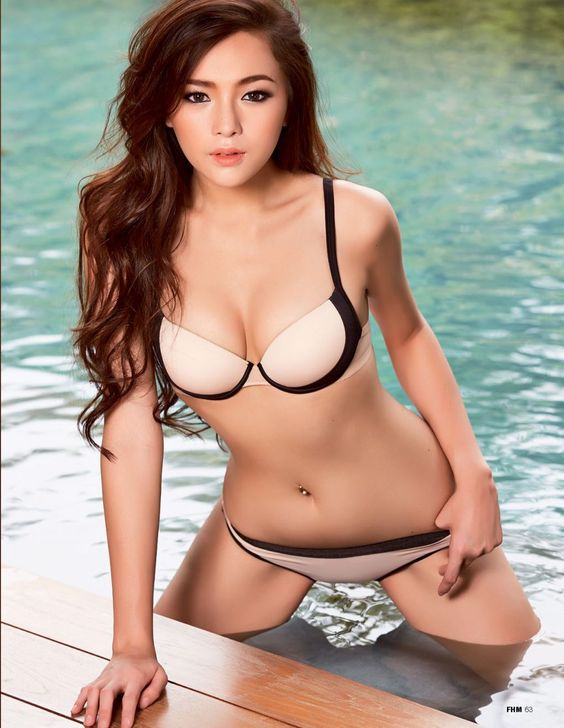 August Strindberg - Supanaree Suttavigitvong for FHM Magazine Thailand