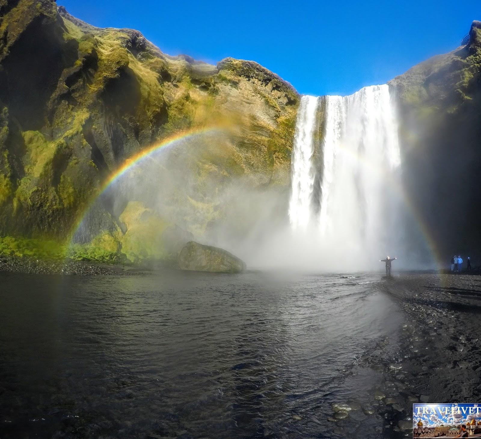 Cascade Islande Skógafoss
