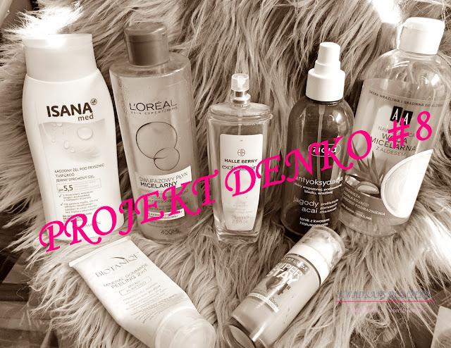 projekt denko, zużycie miesiąca, kosmetyczne denko
