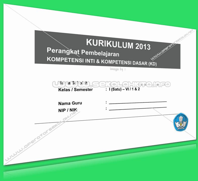 KI dan KD Kurikulum 2013 SD 2013 Update Revisi 2016