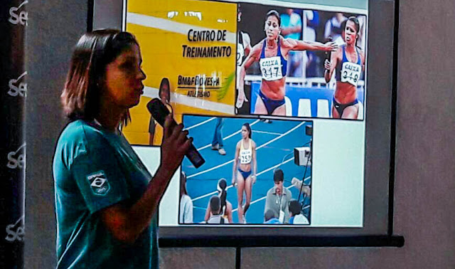 Palestra Dia do Desafio com Janeth Arcain e Rosemar Coelho