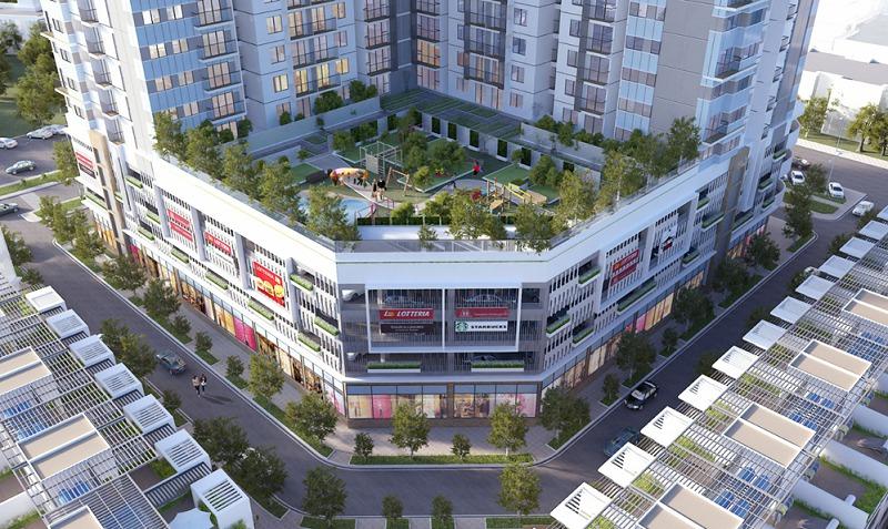Dự án chung cư The Two Residence Hoàng Mai
