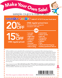 free Toys R Us coupons march 2017