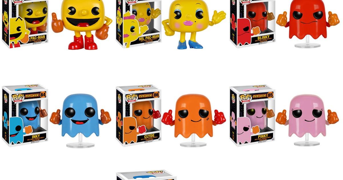 Collecting Toyz: Pac-Man POP! Vinyl Figures