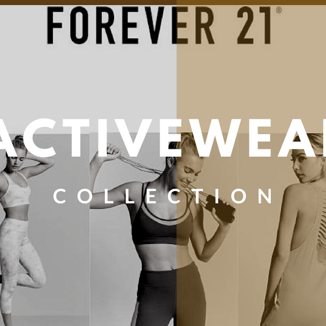 Forever 21 Debuts Activewear in Cebu and Davao #PressRelease #Fashion #F21ACTIVE #F21STYLEMOVEMENT