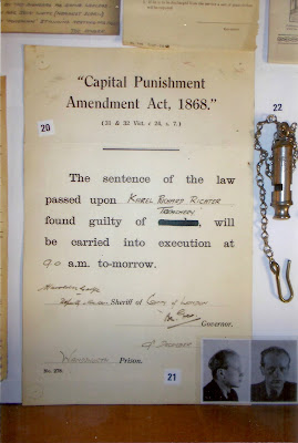 Displays in the Wandsworth Prison Museum (Photo courtesy of Wandsworth Prison Museum)