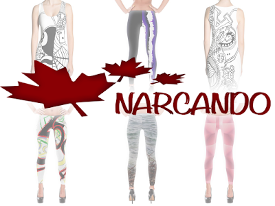 Follow Narcando Clothing on social media! We're on Facebook, Instagram, Pinterest & Twitter!