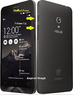 Asus zenfone 5 and 6 recovery mode