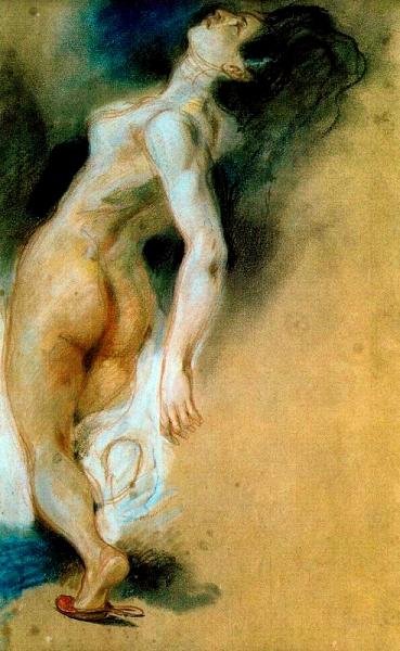 Nu femení (Ferdinand-Victor-Eugène Delacroix)