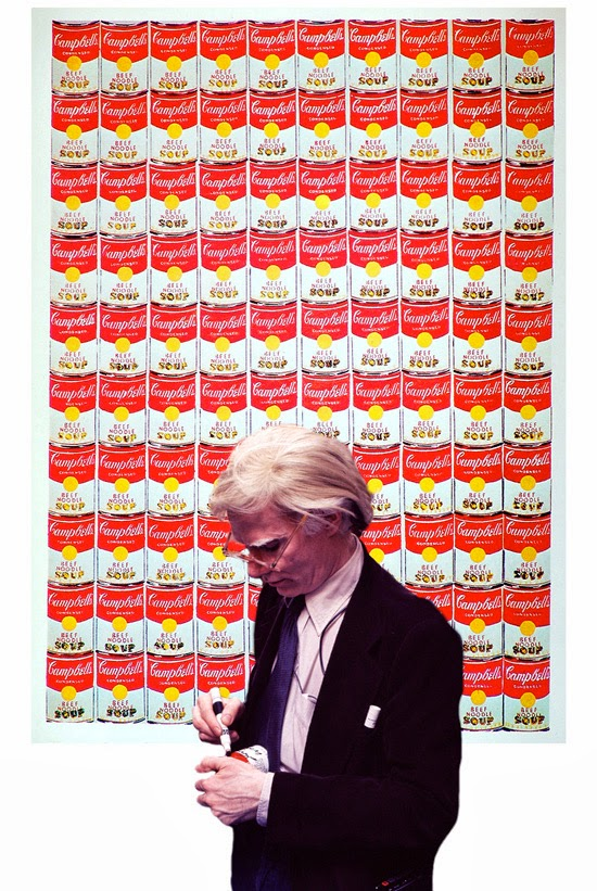 Cassie Stephens: DIY: Campbell's Soup Dress after Andy Warhol