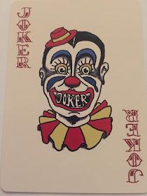 Scary Joker Clown
