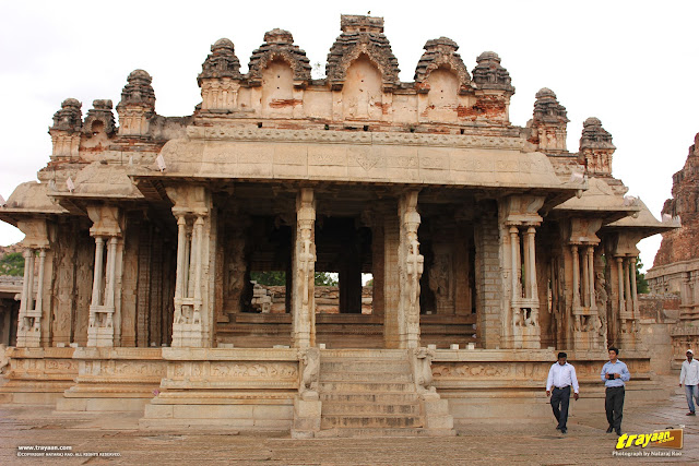 South mandapa in Vithala temple courtyard