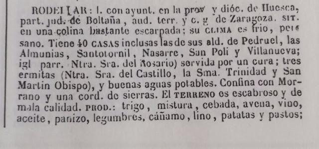 Historia, Rodellar