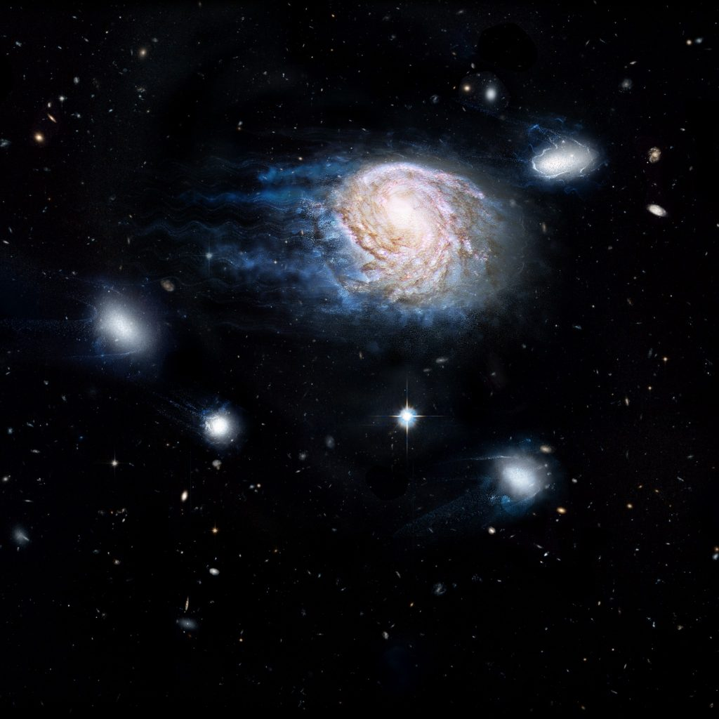 Astronomy Cmarchesin Galaxy Murder Mistery
