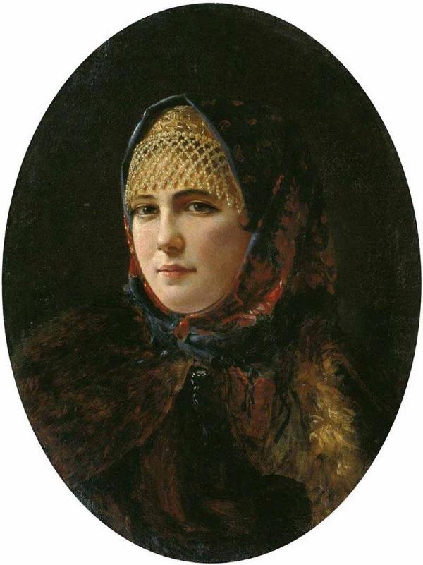 Рачков Николай Ефимович Портрет девушки