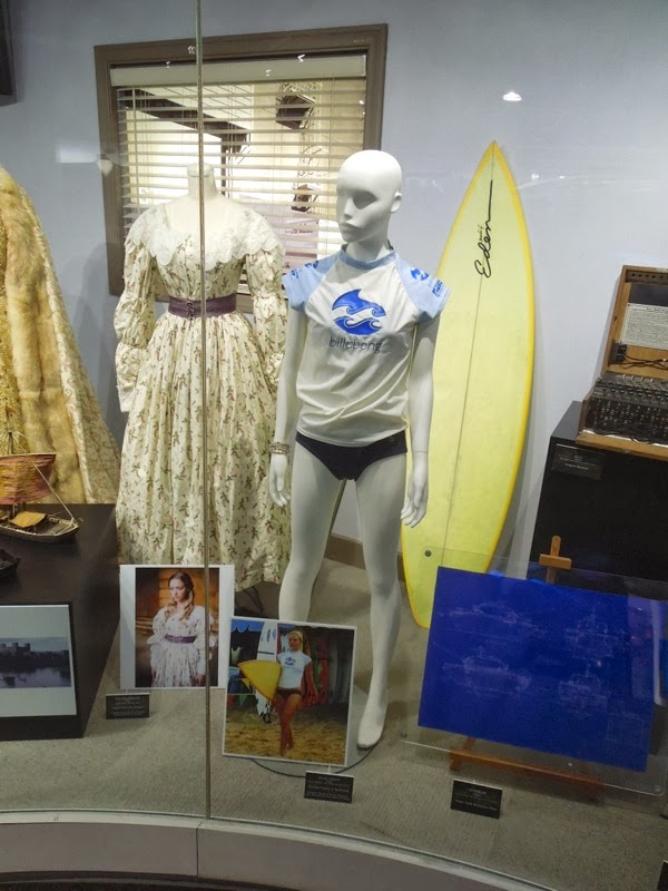 Blue Crush movie costume prop exhibit