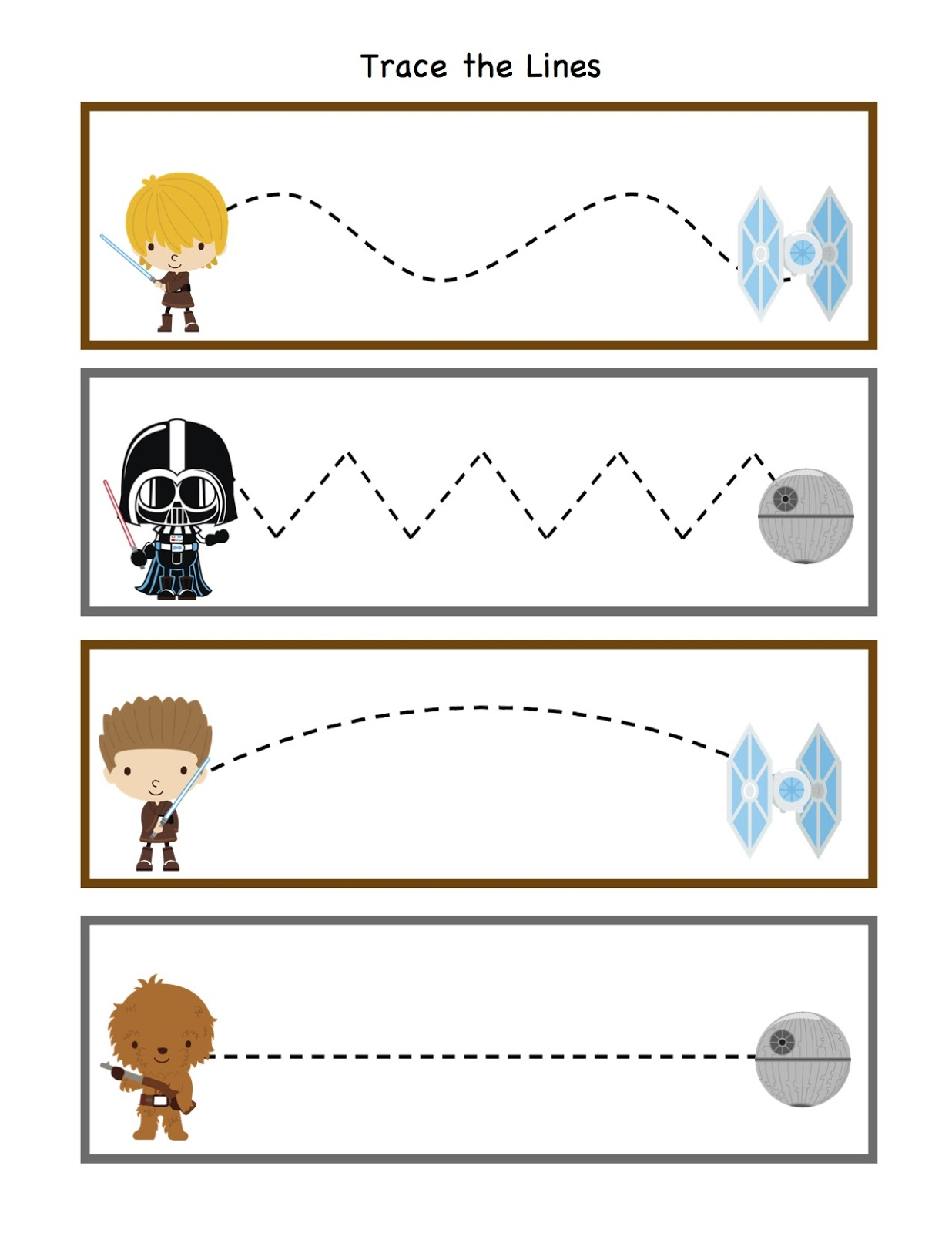 Wars Printable Star Preschool Worksheets Wars Book 3