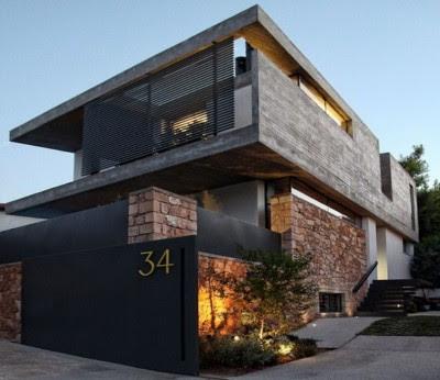 gambar Tampak Depan Rumah Minimalis 2 Lantai
