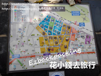 釜田市場交通及地圖