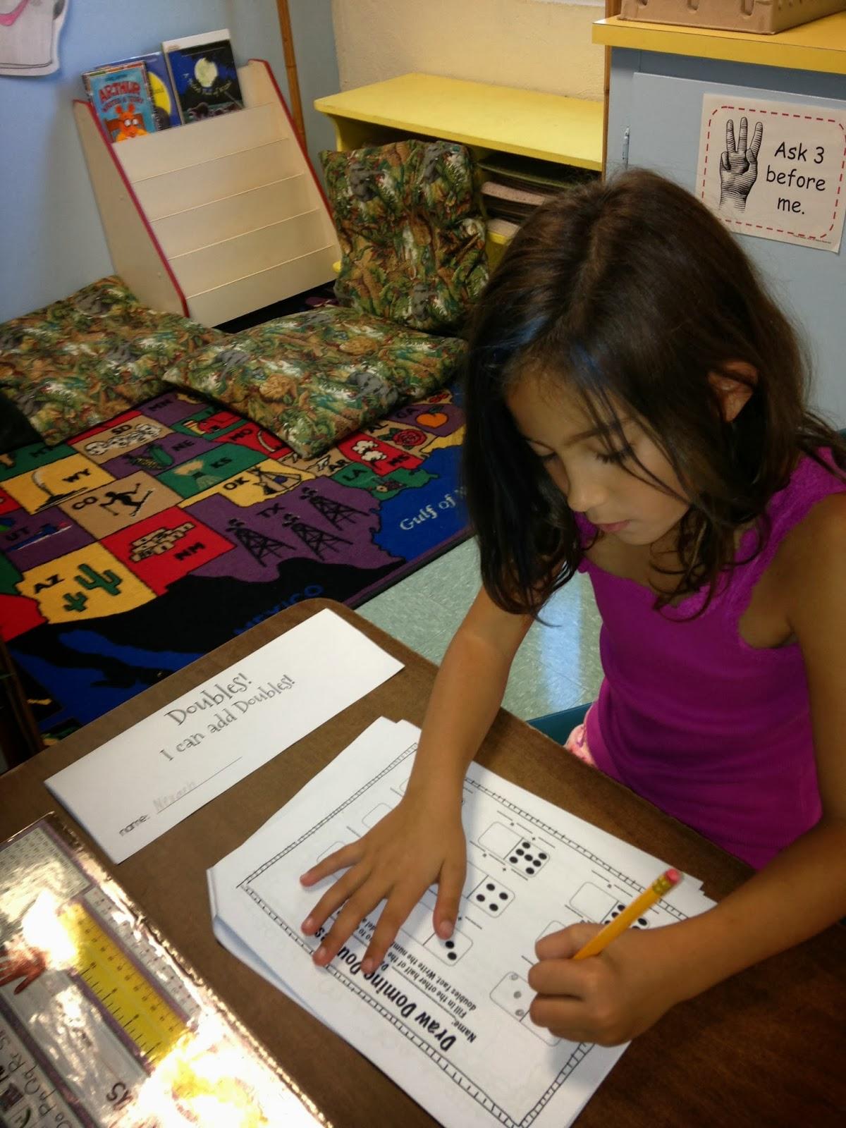 Learn Laugh Teach Doubles Fact Fluency Freebie