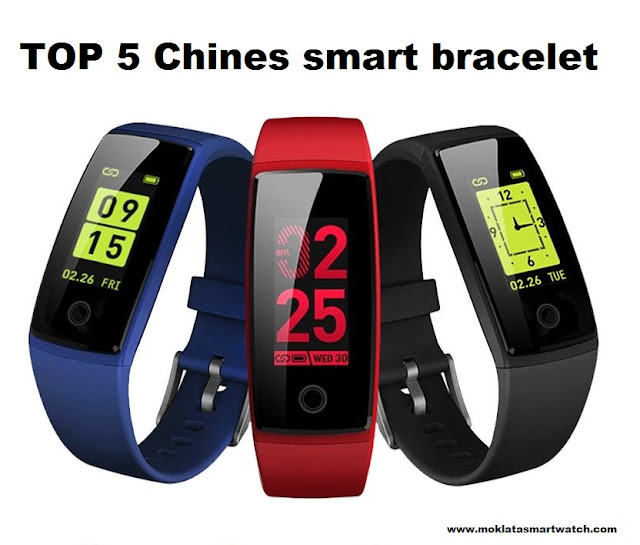TOP 5  Chinese Smart bands 2018/2019