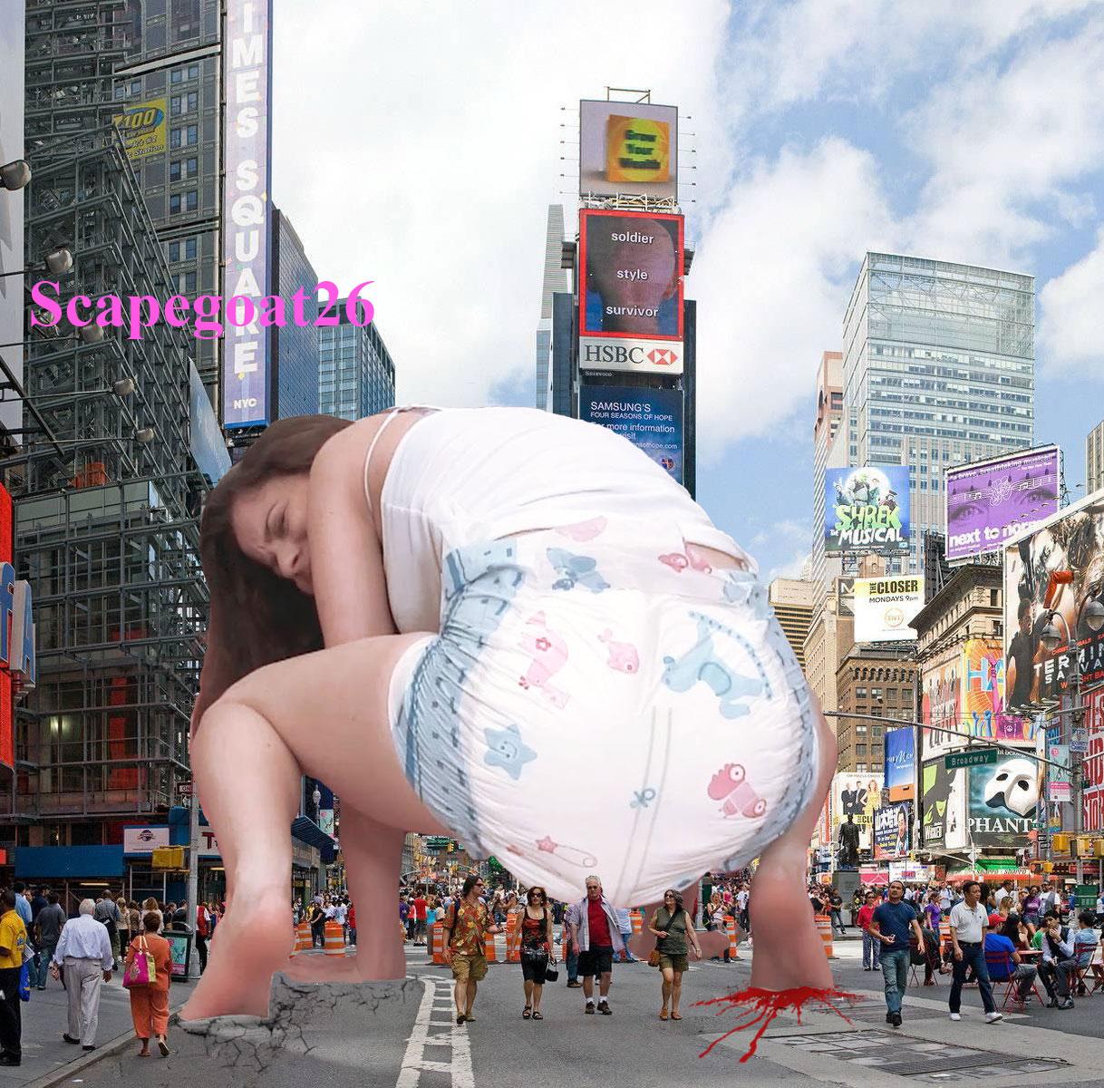 giantess diaper