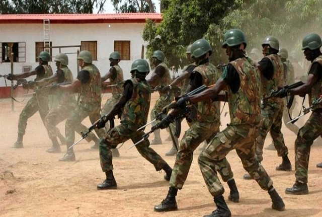 Nigeria Army-Biafra agitators