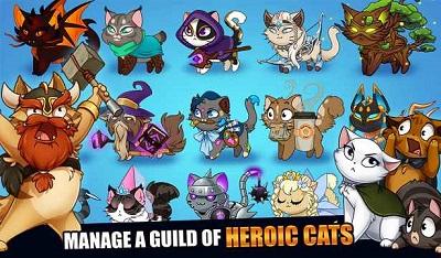 pada kesempatan kali ini admin akan membagikan sebuah game mod apk terbaru yang bergenre  Download Castle Cats Mod Apk v2.2.3 (Unlimited Gold/Gems)