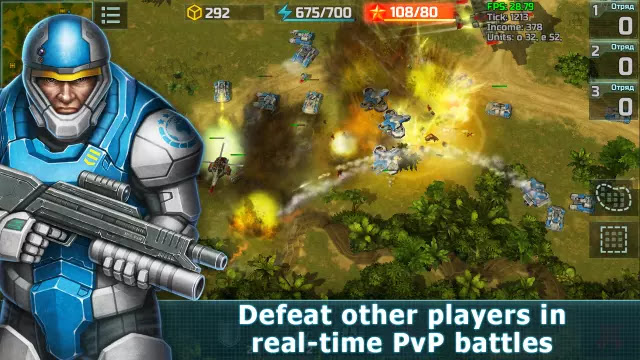 Art of War  PvP RTS strategy Apk