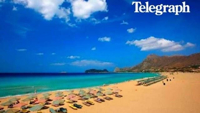 Telegraph - Κρήτη και Κέρκυρα στα 10 καλύτερα νησιά της Ευρώπης