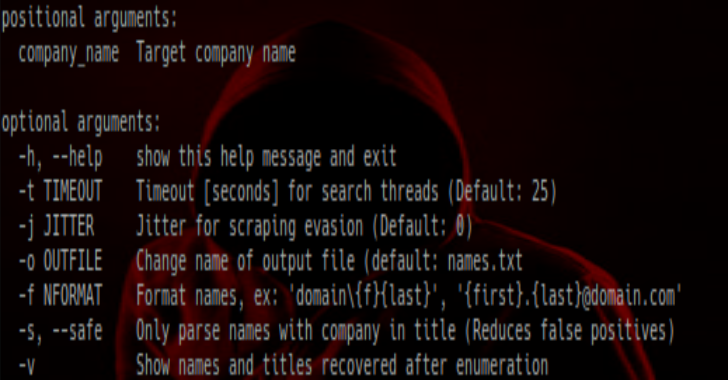 CrossLinked : LinkedIn Enumeration Tool To Extract Valid Employee Names From An Organisation