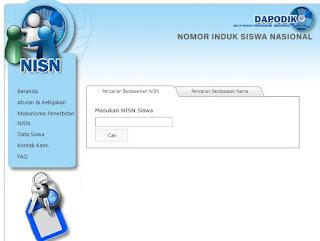 cara Mengecek Dan Melihat Nomor Induk Siswa Nasional NISN