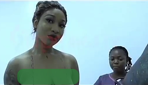 tonto dikeh boobs surgery