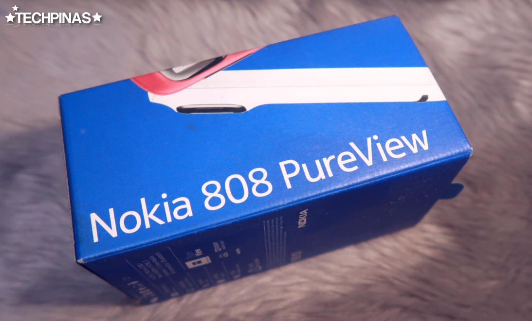 Nokia PureView, Nokia 808 PureView Box