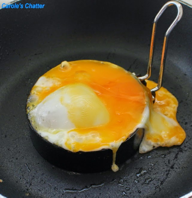 Carole's Chatter: Fried Egg Experiment